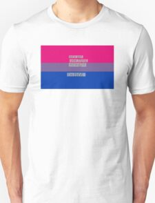 Let's get one thing straight, I'm not - bisexual flag T-Shirt