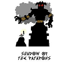 Shadow of the Patapons Photographic Print