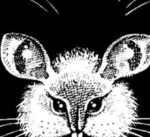 Cat Mouse - Optical Illusion  Sticker