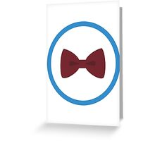 Doctor Who - Bow Ties are cool Greeting Card