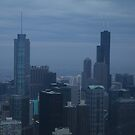 A View From The John HanCock Observatory by Adam Kuehl
