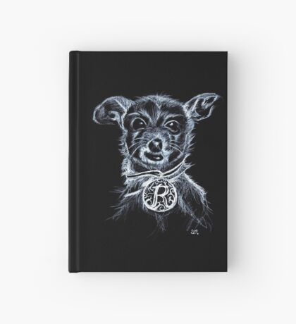 Roxy ChihuahuaTerrier Hardcover Journal
