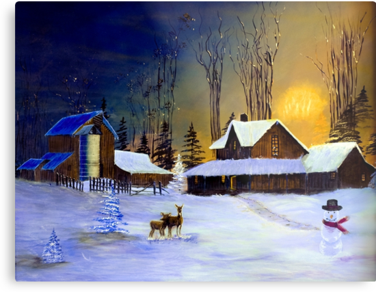 The Night Before Christmas by Diane Schuster