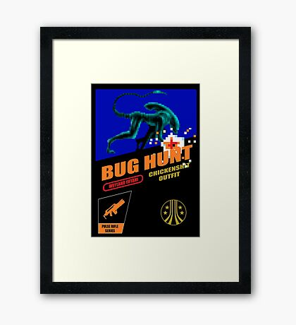 Aliens - Bug Hunt Framed Print