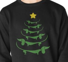 Dachshund Christmas ugly sweaterT-shirt for funny holiday gift Pullover