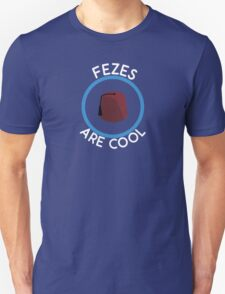 Doctor Who - Fezes are cool T-Shirt