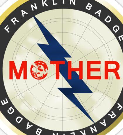 Franklin Badge Sticker