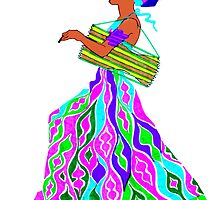 Drummer in a dress -Thalie by Oluwaseyi Alade