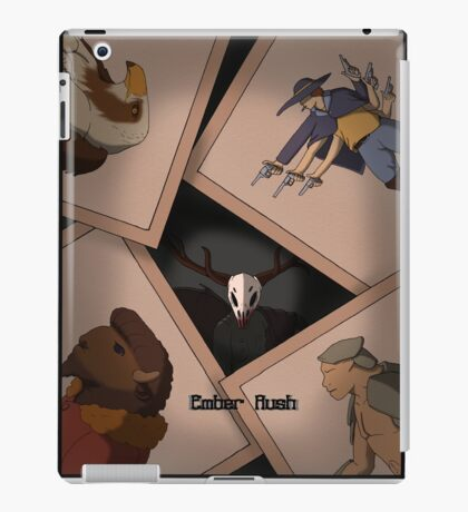 Ember Rush - Wanted posters iPad Case/Skin