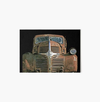 Rusty Old Truck Art Board