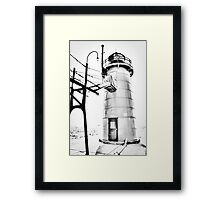 The Lighthouse of South Haven Framed Print