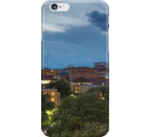 Texas Images - the University of Texas Tower from DRK on a Stormy Night iPhone Case/Skin