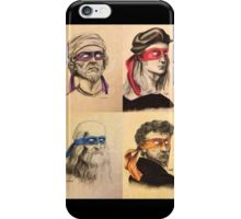 TMNT Tribute iPhone Case/Skin