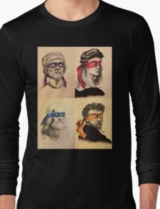 TMNT Tribute Long Sleeve T-Shirt