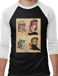 TMNT Tribute Men's Baseball ¾ T-Shirt