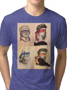 TMNT Tribute Tri-blend T-Shirt