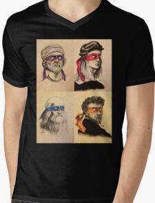 TMNT Tribute Mens V-Neck T-Shirt