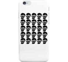 Black Skulls  iPhone Case/Skin