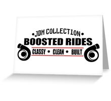 Boosted Rides Greeting Card