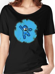Mega Man Jumps and Shoots Women's Relaxed Fit T-Shirt