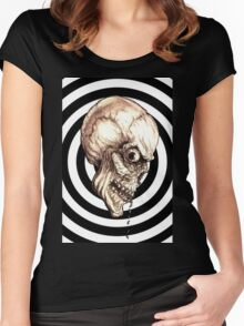 CREEPYSKULL Women's Fitted Scoop T-Shirt