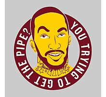 J.R. Smith You trying to get the pipe Photographic Print