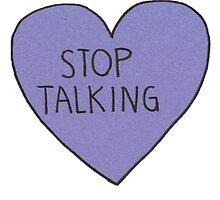 stop talking by karaiac