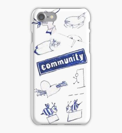 Community Logo Edit iPhone Case/Skin