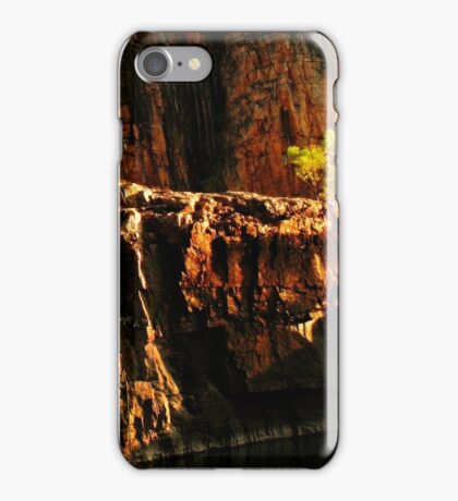 Once upon a time there was a little green tree. iPhone Case/Skin