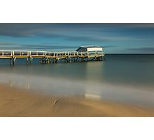 Rickety Jetty at Sullivan Bay, Sorrento  Photographic Print