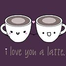 Lattes in Love by Stacey Roman