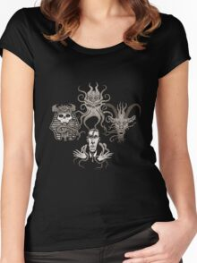 Lovecraftian Rhapsody Women's Fitted Scoop T-Shirt