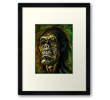 DEAD BLIND Framed Print