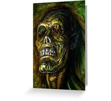 DEAD BLIND Greeting Card