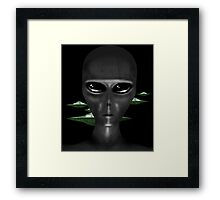 GRAYS Framed Print