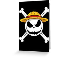 The Nightmare Before Piracy Greeting Card