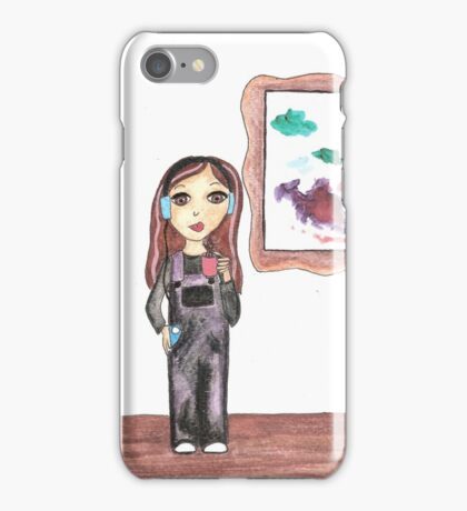 Emily's painting iPhone Case/Skin