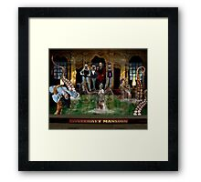 LOVECRAFT MANSION Framed Print
