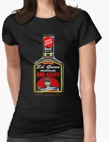 GEIN BBQ SAUCE Womens Fitted T-Shirt