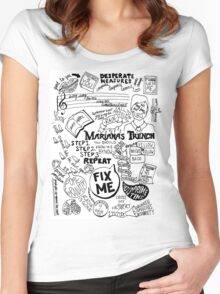 Marianas Trench Women's Fitted Scoop T-Shirt
