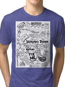 Marianas Trench Tri-blend T-Shirt