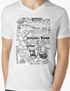 Marianas Trench Mens V-Neck T-Shirt