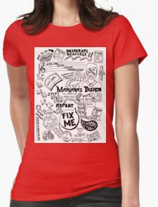 Marianas Trench Womens Fitted T-Shirt