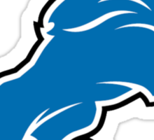 Detroit Lions Forever.  Sticker