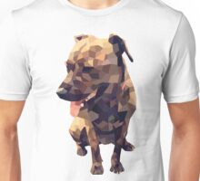 Geometric Dog Unisex T-Shirt