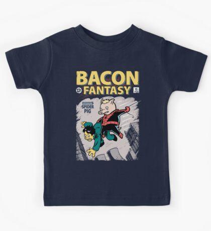 Bacon Fantasy #15 Kids Tee