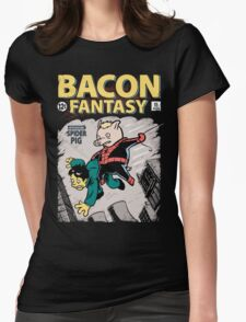 Bacon Fantasy #15 Womens Fitted T-Shirt