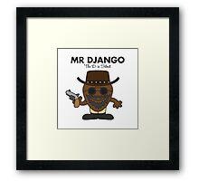 Mr Django Framed Print