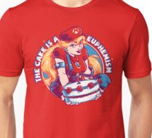The Cake is a Euphemism Unisex T-Shirt