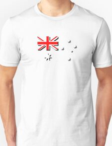 Australian flag, no blue background T-Shirt